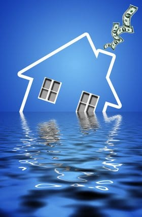 What if My Mortgage is Under Water?  4 Ways To Get Your Head Above Water