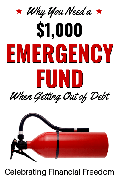 How Do You Get Out of Debt? (Part 3)- Create a $1,000 Emergency Fund