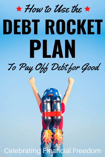 How Do You Get Out of Debt Part 4- The Debt Rocket- child with jetpack