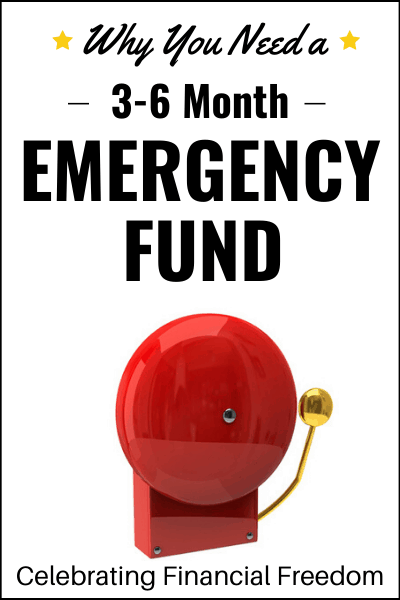 How Do You Get Out of Debt Part 5- 3-6 Month Emergency Fund- alarm bell