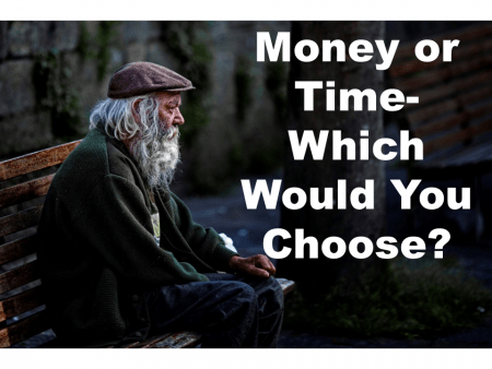 Win the Lottery or Live Twice as Long- Would You Choose Time or Money?
