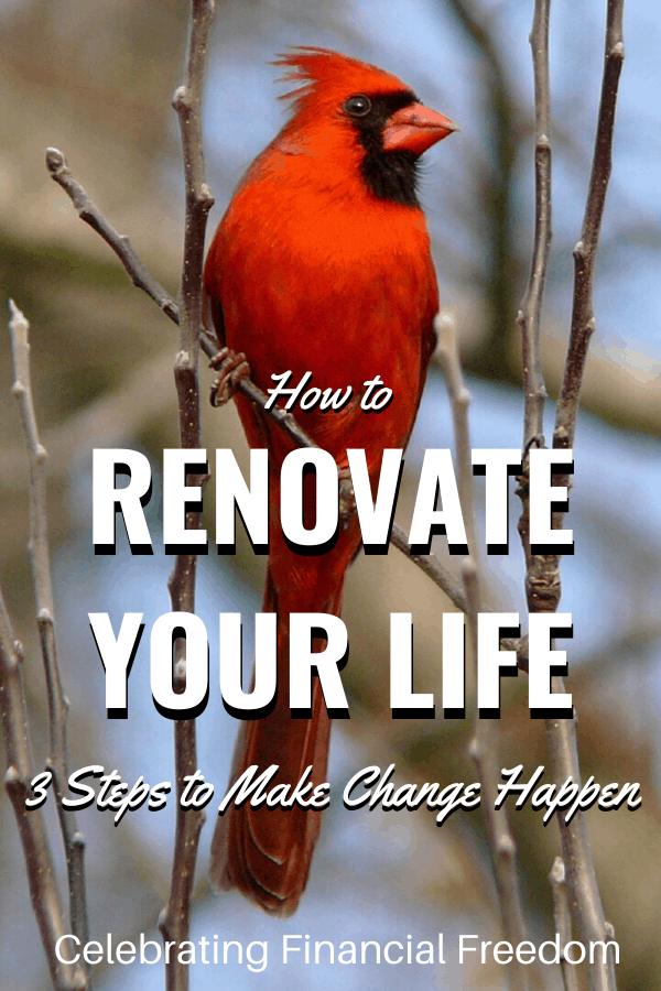 How to Renovate Your Life- 3 Steps to Make Change Happen