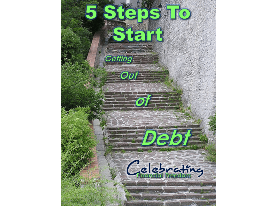 5 steps for getting out of debt