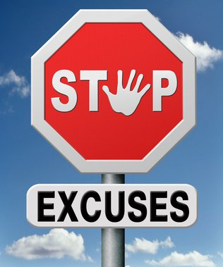 Post image for Are You Using These Excuses?- 5 Budgeting Excuses and How You Can Overcome Them
