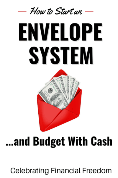 How to Start an Envelope System and Budget WIth Cash 1