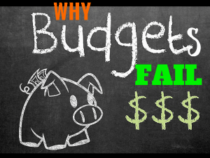 3 Reasons Why Your Budget Fails