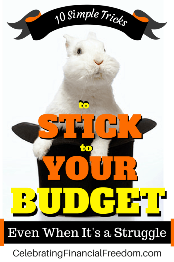 10 Simple Tricks to Stick to Your Budget Even When Its a Struggle