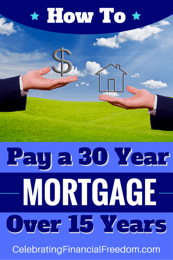How to Pay a 30 Year Mortgage Over 15 Years