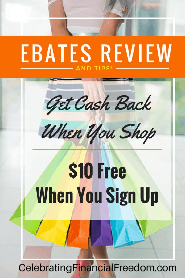 Get Paid to Shop on Ebates.com- Earn Free Money Shopping Online