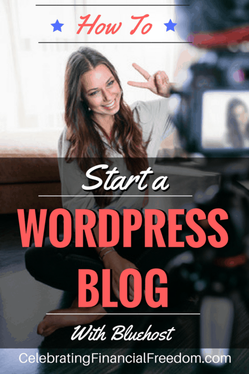 How to Start a Wordpress Blog With Bluehost- Money Making Idea
