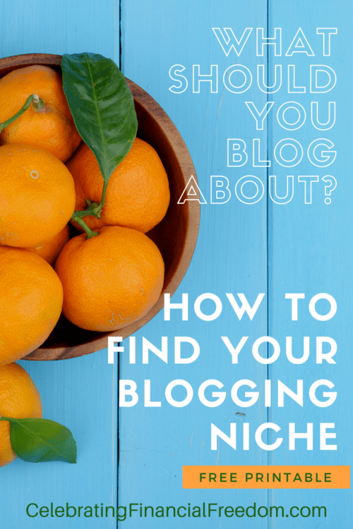 What Should You Blog About? How to Find Your Blogging Niche