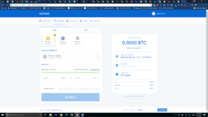 Coinbase Purchase cryptocurrency