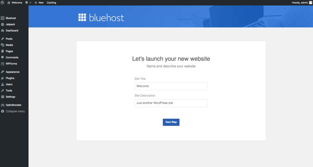 Launch Your WordPress Blog Site