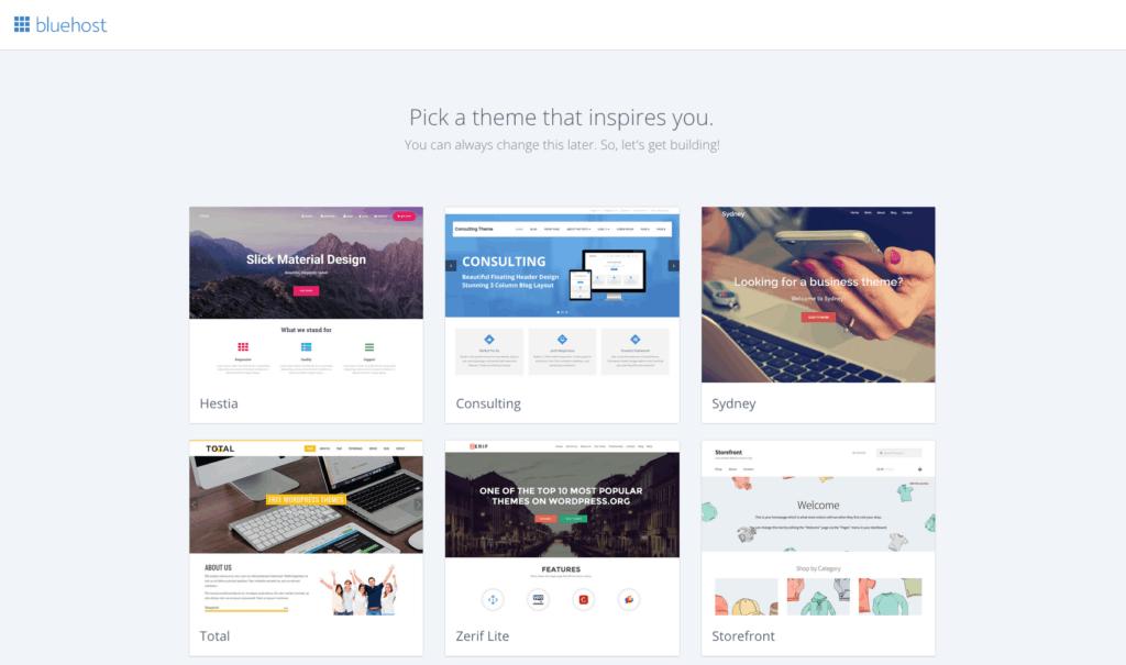 Pick Theme for WordPress blog