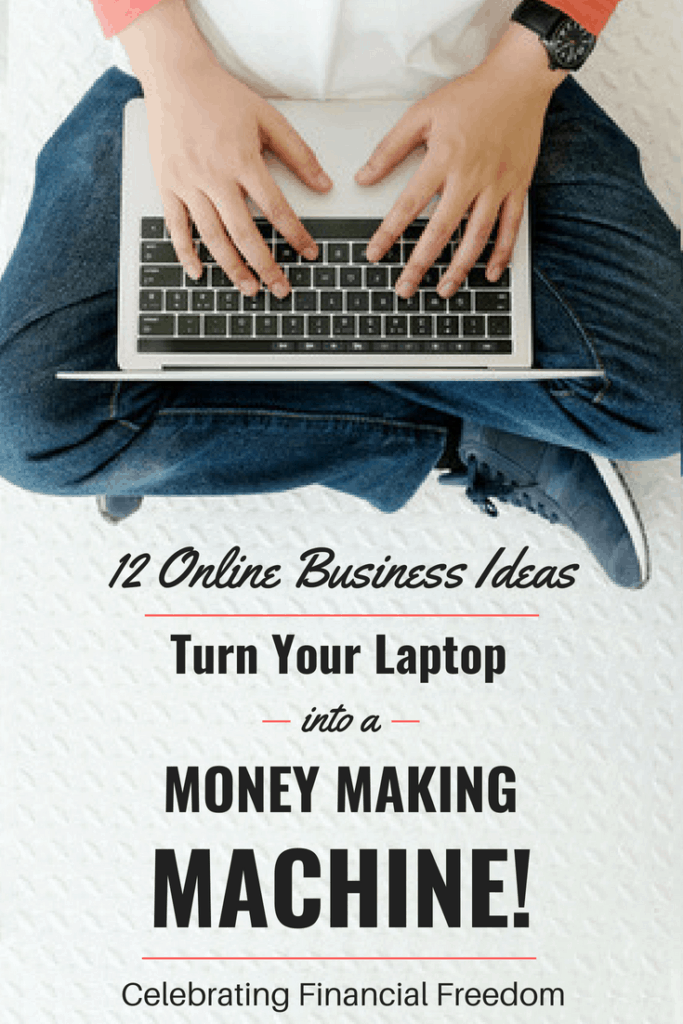12 Online Business Ideas- Turn Your Laptop into a Money