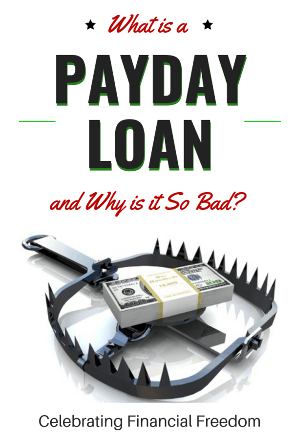 What is a Payday Loan and Why is it So Bad 1
