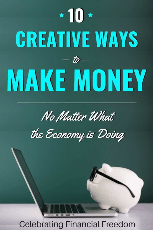 10 Creative Ways to Make Money on the Side, Even in a Bad Economy